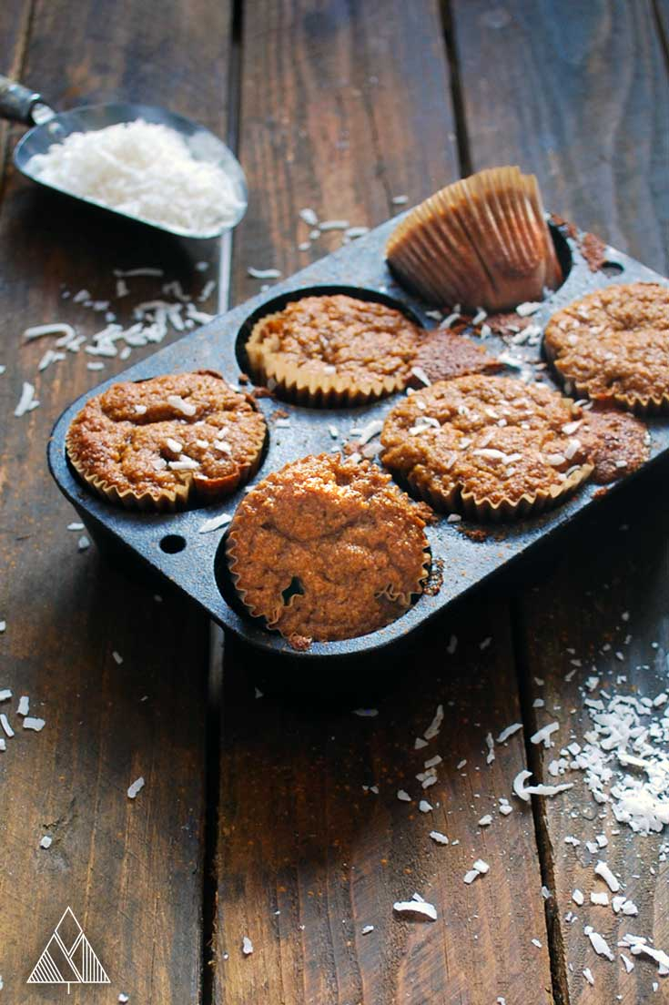 Paleo Pumpkin Muffins | The Little Pine
