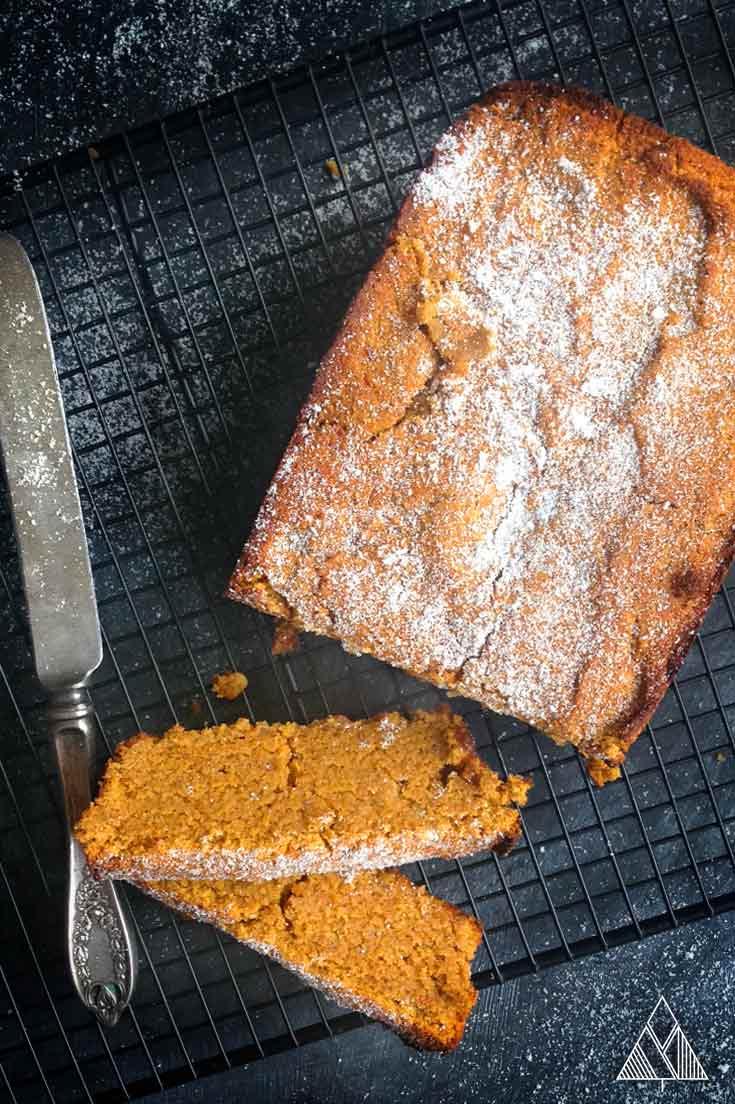 Gluten Free, Vegan, Paleo Butternut Squash Bread