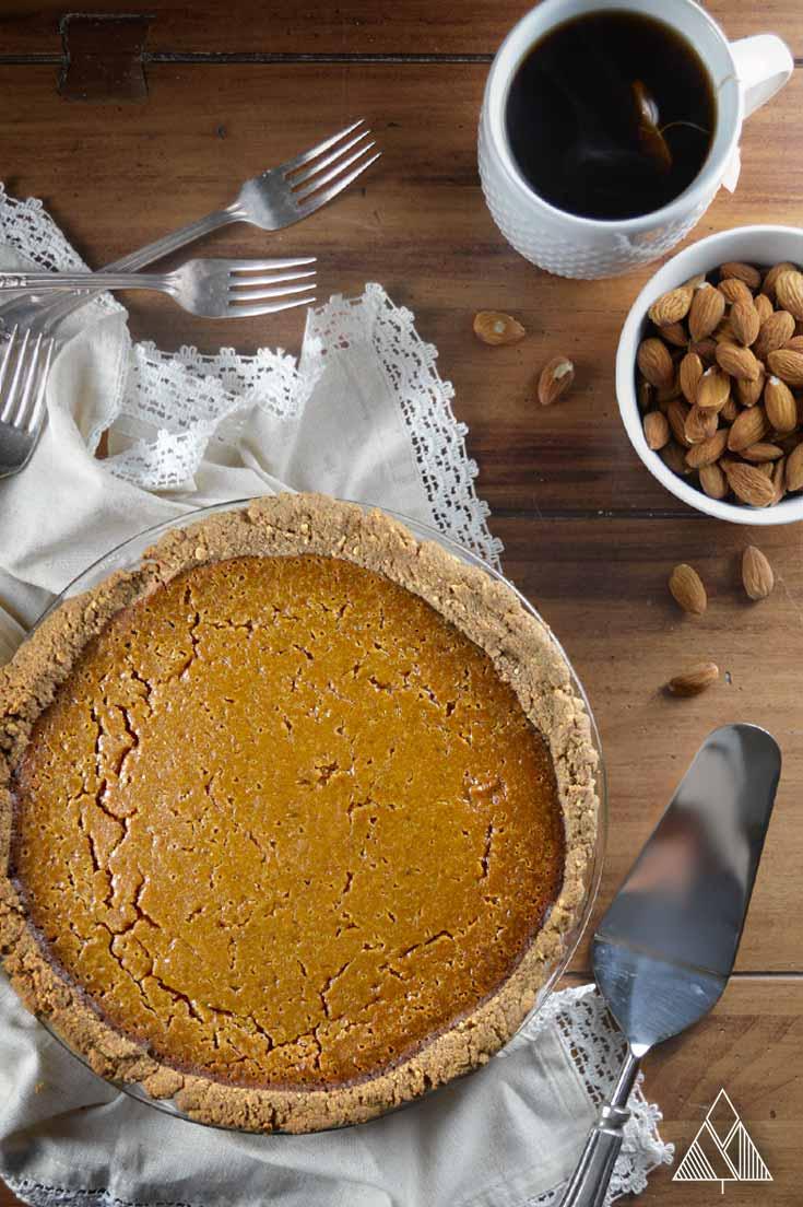 Paleo Pumpkin Pie | The Little Pine