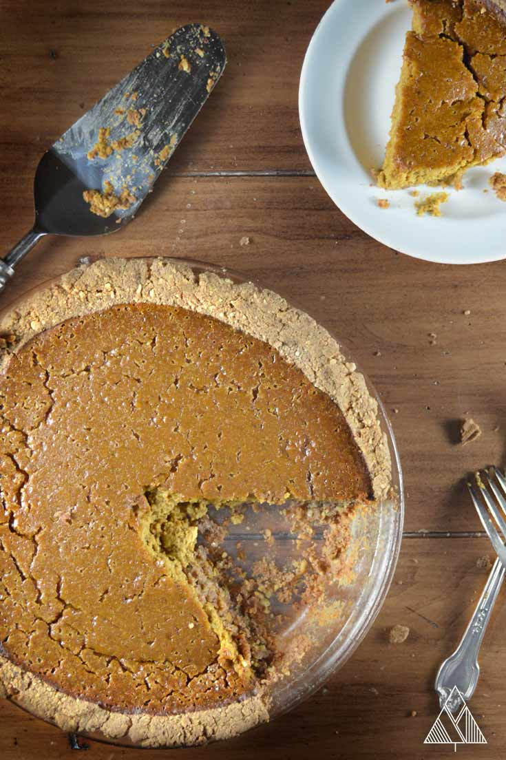 Paleo Pumpkin Pie | The Little Pine