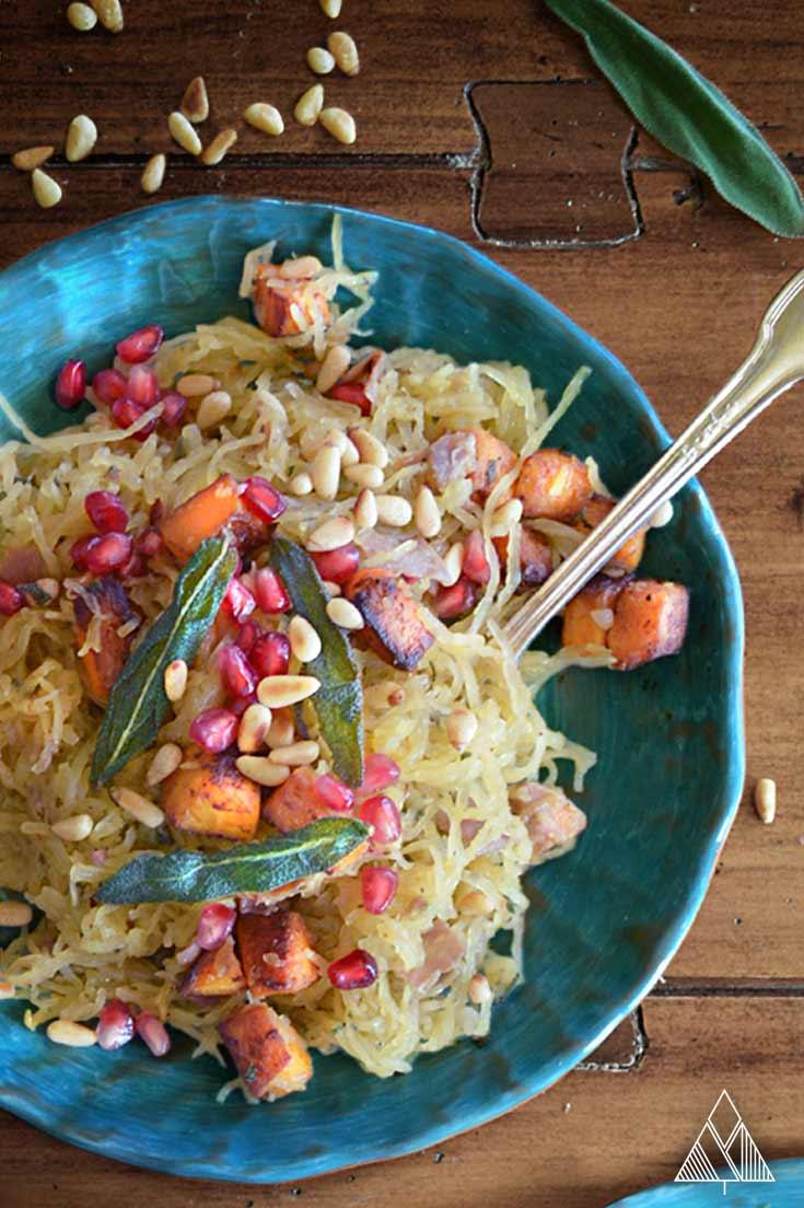 Paleo Spaghetti Squash | The Little Pine
