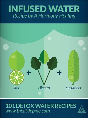 Detox Water Recipe | The Little Pine