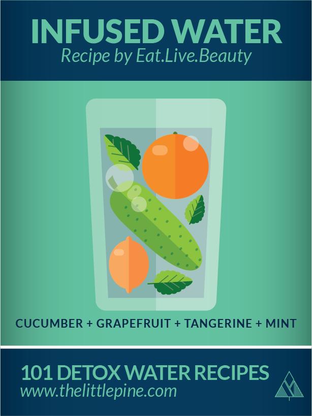 101 Detox Water Recipe | The Little Pine