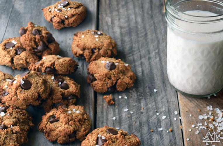 The Best Vegan Chocolate Chip Cookies (Gluten Free & Paleo)