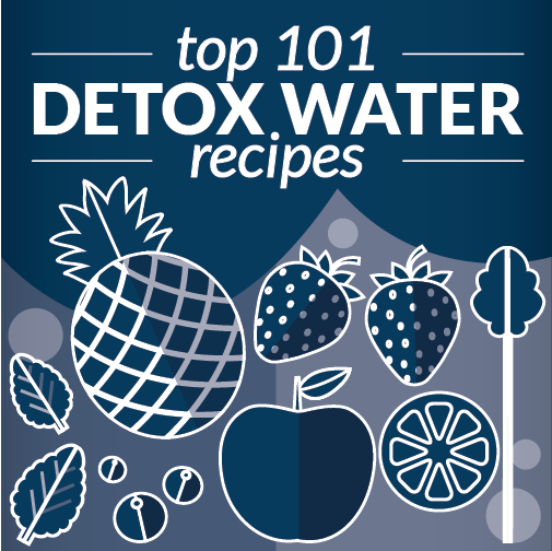 101 Delicious Detox Water Recipes to get you drinking more water, and loving every sip of it! #toloseweight #recipes #fatburning #simple #cleanse #forclearskin #flatbelly #bodyflush #forenergy #forbloating #ginger #cucumber #lemon #strawberry #pineapple #diy #watermelon #fruit #mint #howtomake