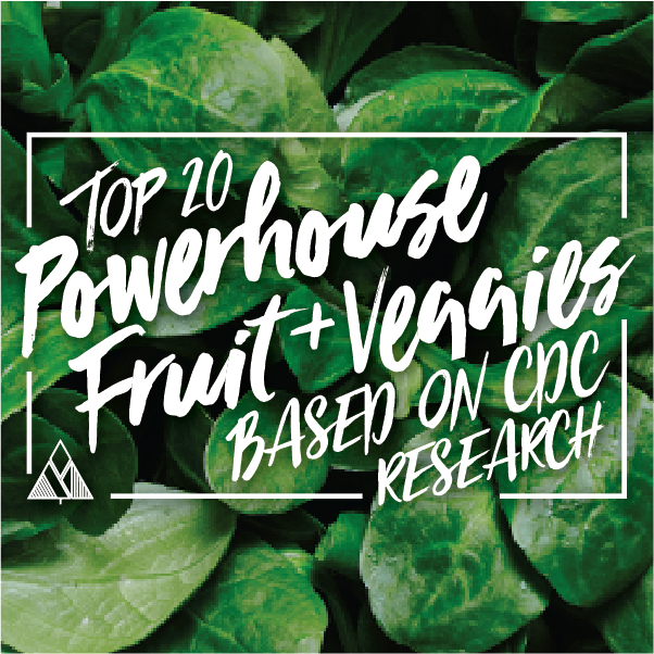 Top 20 Powerhouse Fruit and Vegetables