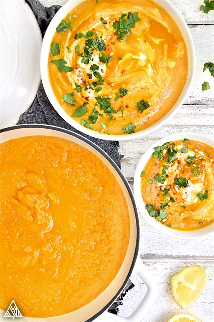 Carrot And Coriander Soup | The Little Pine