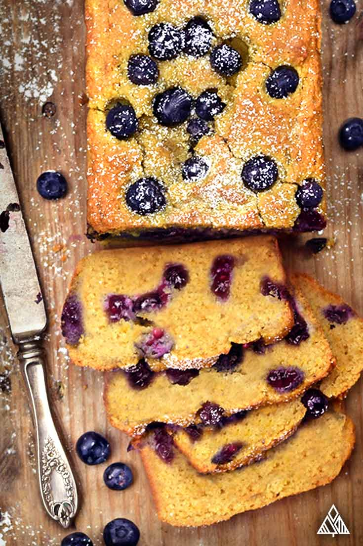 Blueberry Bread | The Little Pine