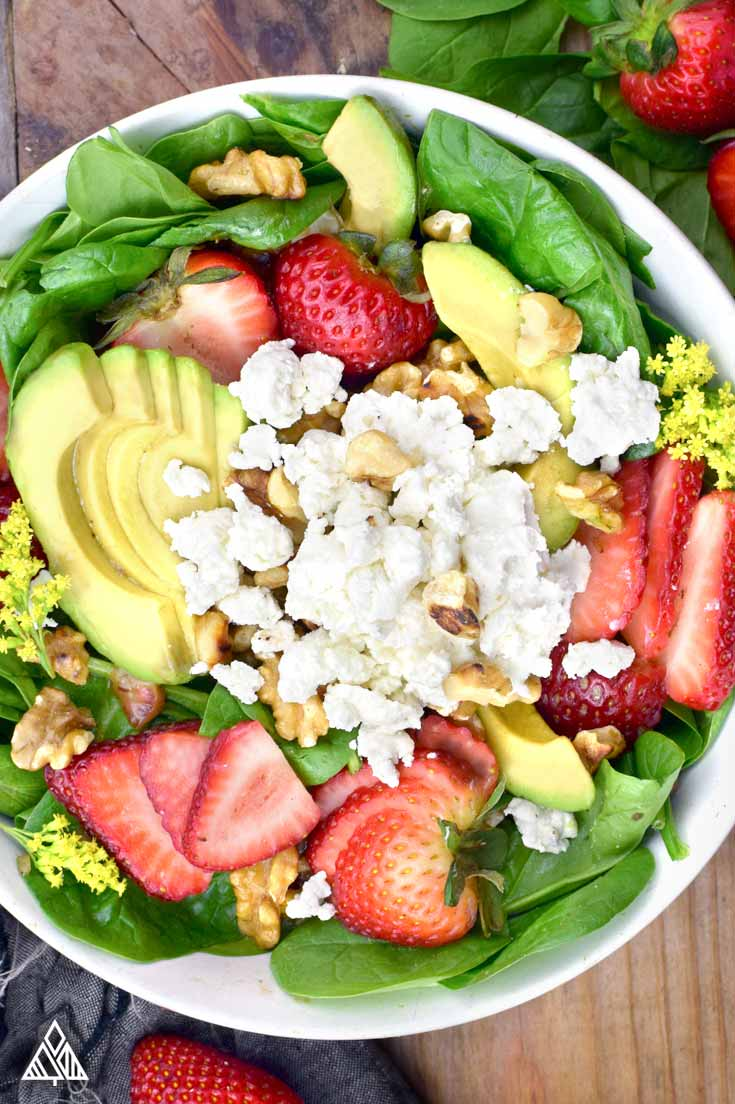 Strawberry Salad | The Little Pine