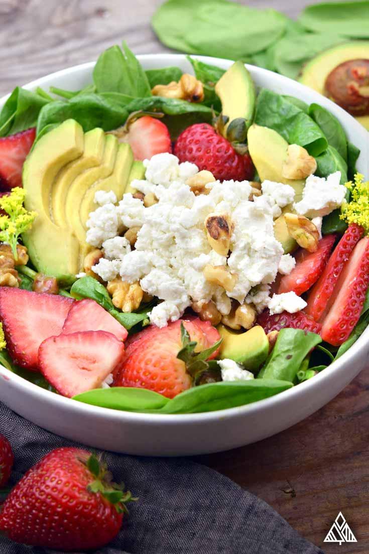 Strawberry Salad   The Little Pine