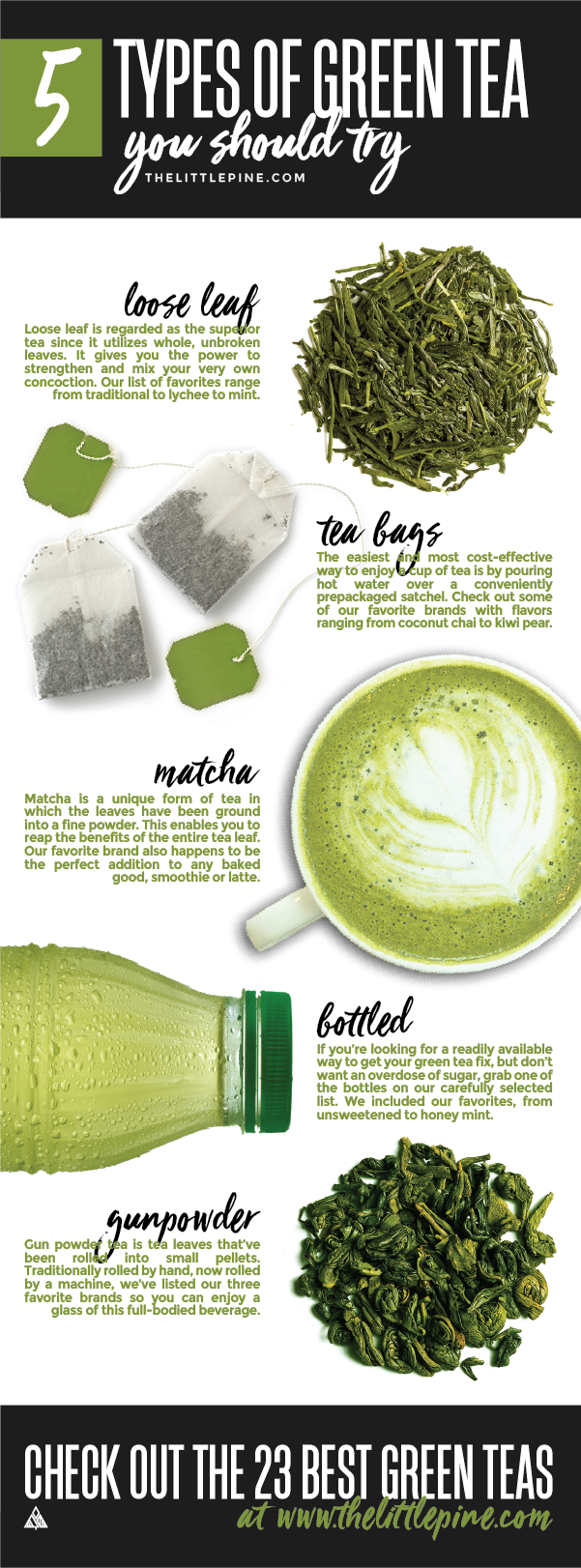 23 Best Green Teas The Little Pine