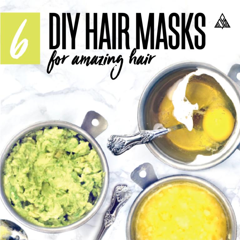 6 DIY Hair Masks