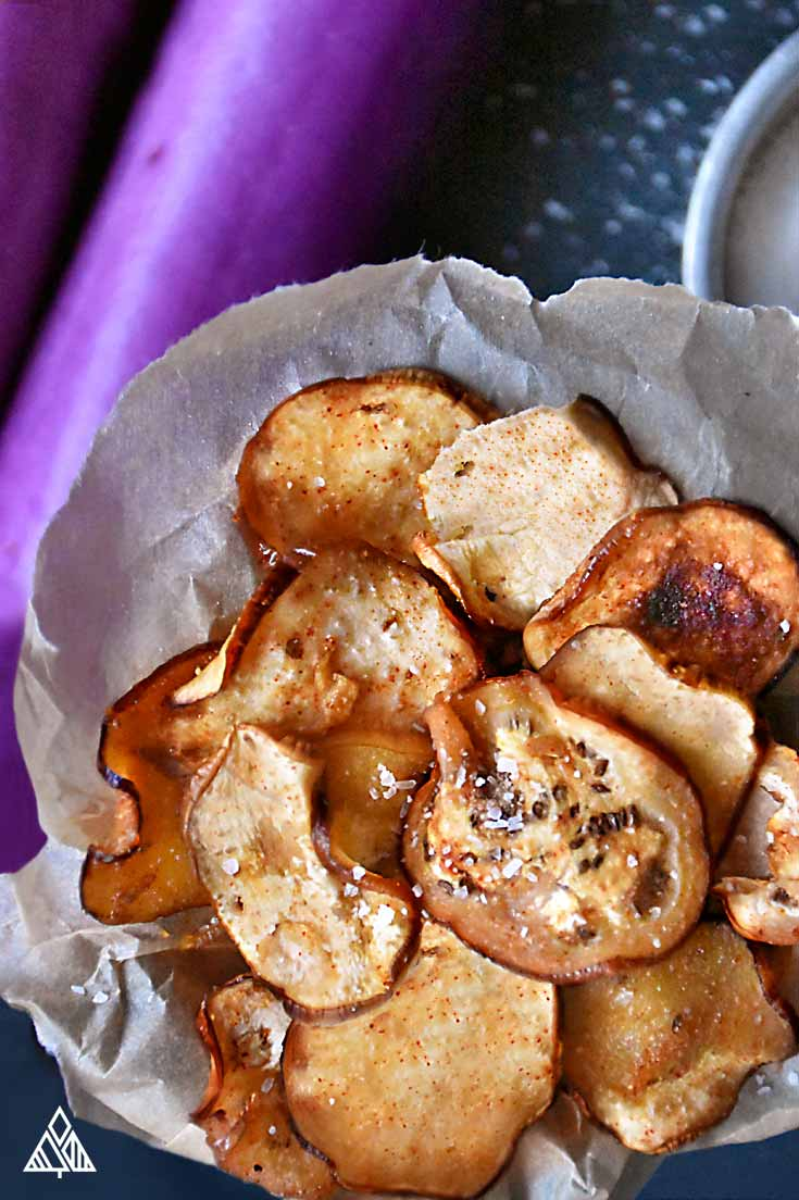 5 Baked Veggie Chips | The Little Pine
