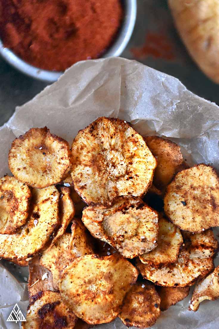 5 Baked Veggie Chips | The Little Pine
