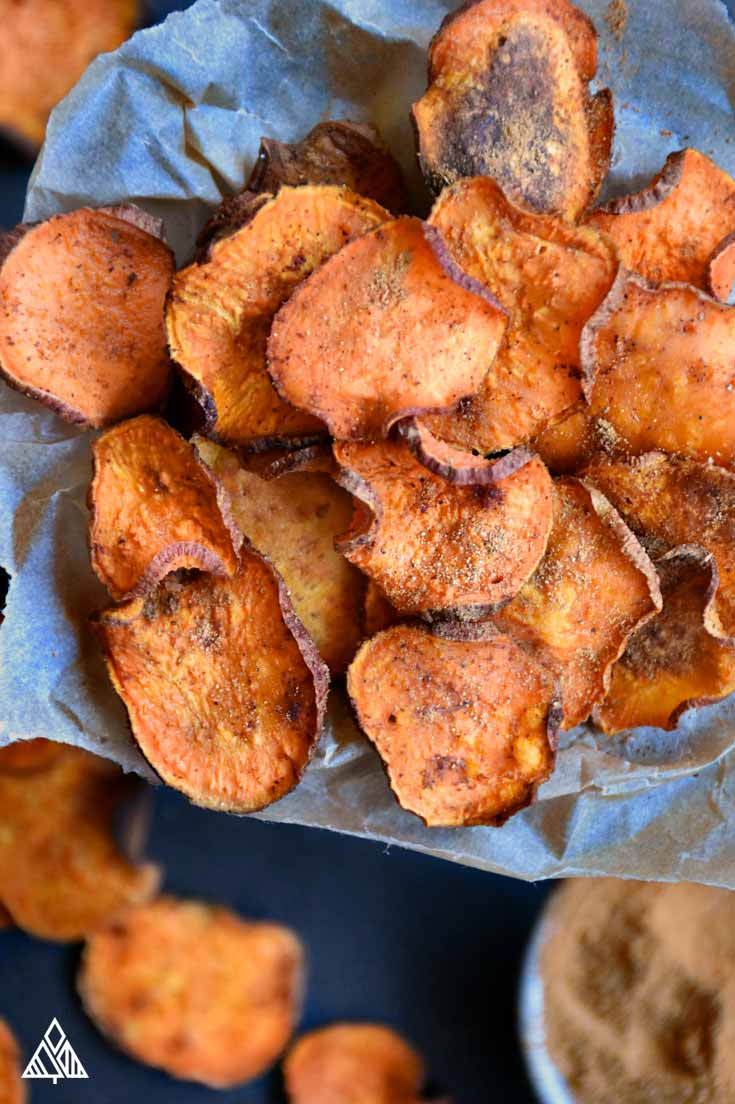 5 Baked Veggie Chips   The Little Pine