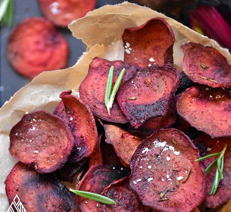6 Irresistible Baked Veggie Chips