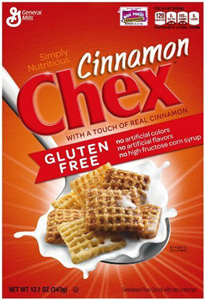 box of chex gluten free cereal