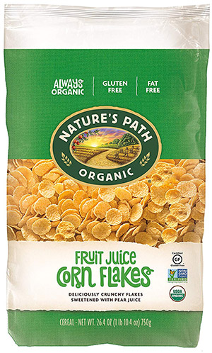 box of corn flakes gluten free cereal