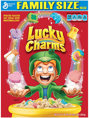 box of lucky charms gluten free cereal