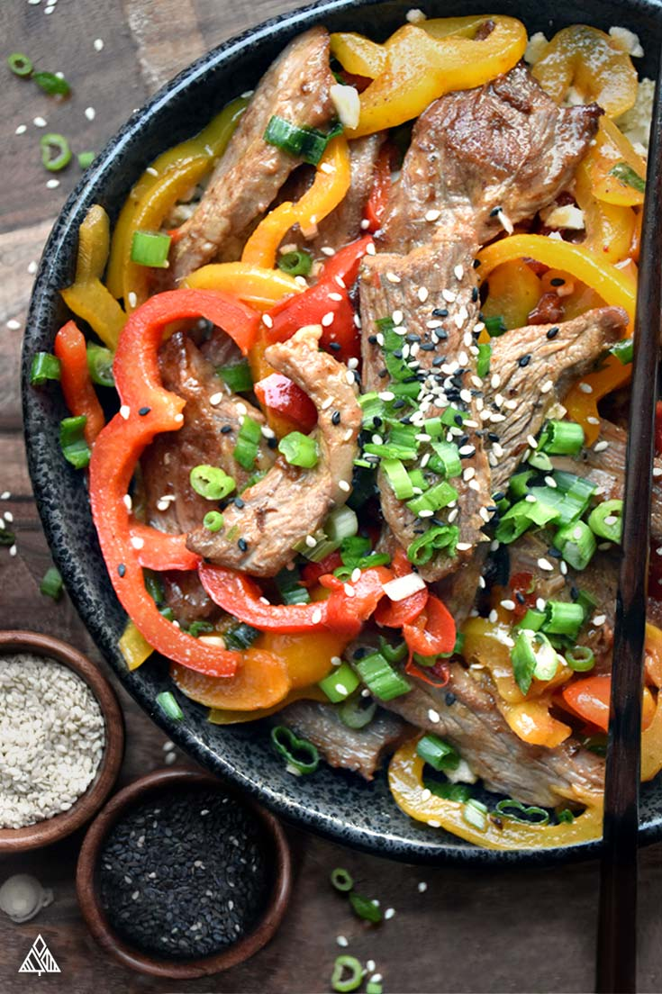 Hunan Beef, Low Carb   The Little Pine