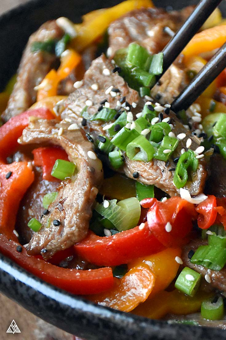 Hunan Beef – Low Carb + Paleo Perfection