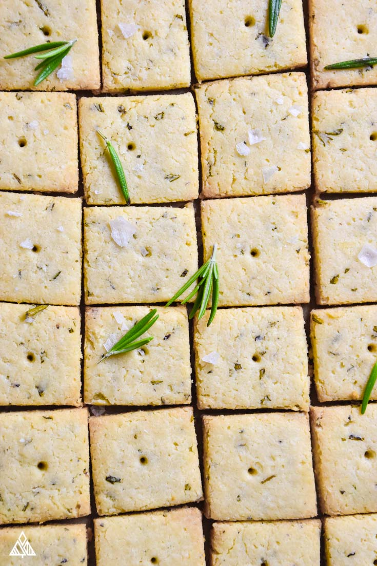 Low Carb Crackers - The Little Pine