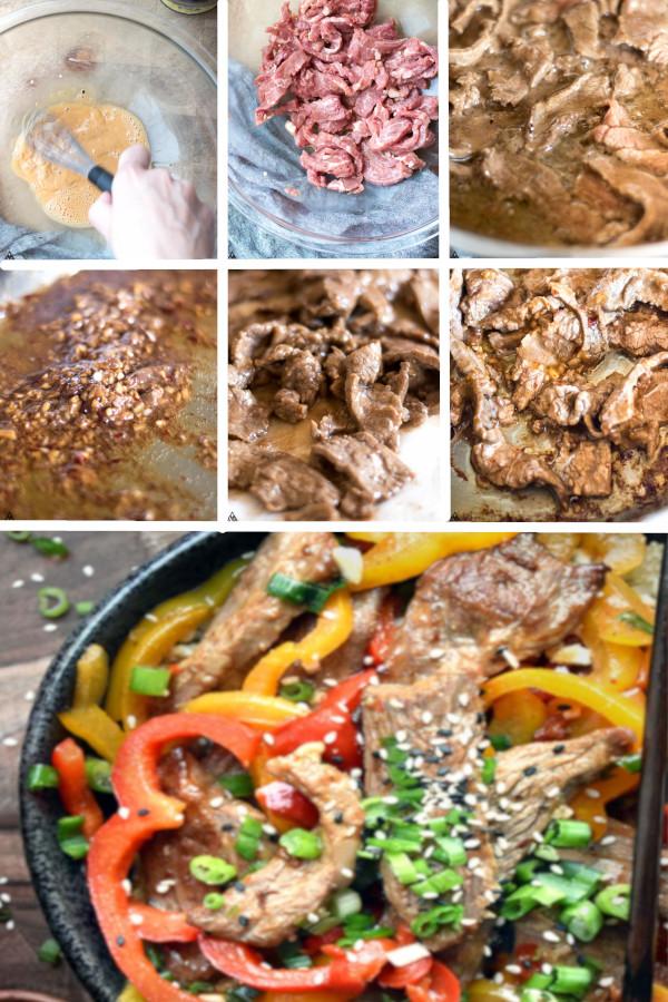 Low carb, paleo, Chinese food perfection. Hunan Beef Recipe 😘 #lowcarb #keto #glutenfree #grainfree #healthy #recipe #chinesefood #crockpot #spicy #paleo #stirfry #flanksteak #vegetable #vegetableoil #arrowroot #sherry #salt #pepper #coconutaminos #onions
