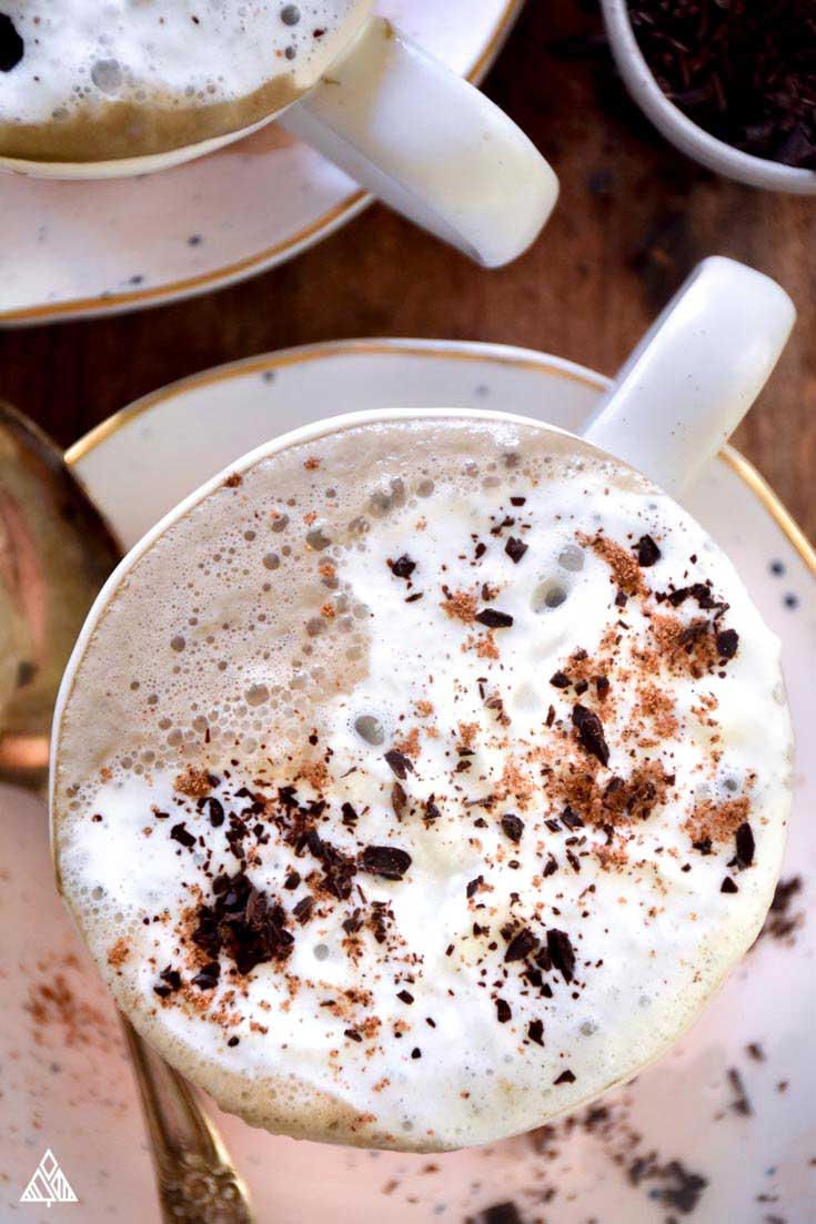 Low Carb Hot Chocolate | The Little Pine