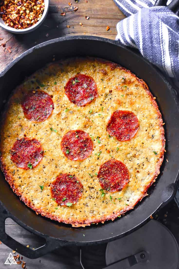 Crustless Pizza The Little Pine
