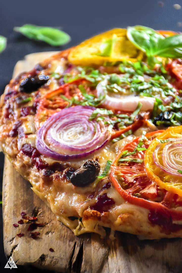 Meatza — Easy, Delicious, Low Carb + High Protein Pizza!