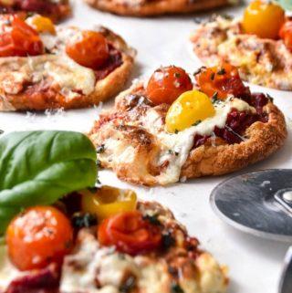 Cloud Bread Pizza (1g Carb/Pizza!!)