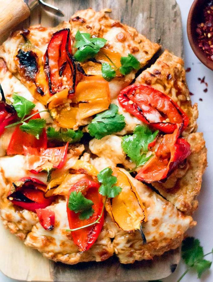 The BEST Chicken Crust Pizza — A Low Carb Pizza Alternative!