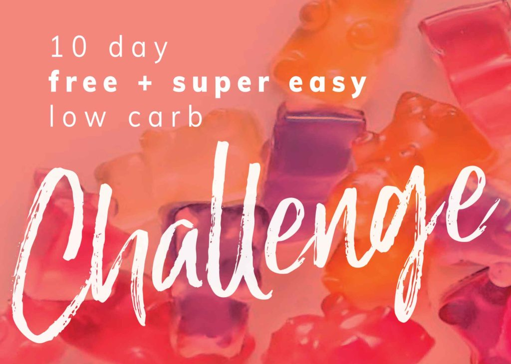 Low Carb Challenge Banner Graphic