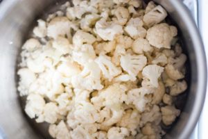 how to steam cauliflower for low carb shepherd's pie