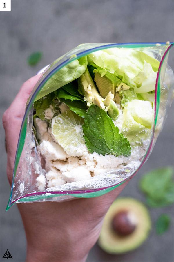 Low carb green smoothie ingredients
