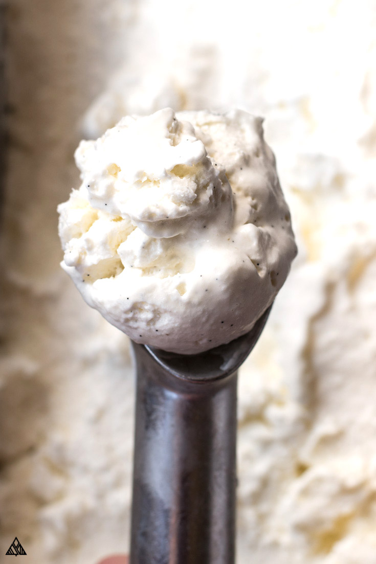 JUMP TO RECIPE. A scoop of sugar free ice cream