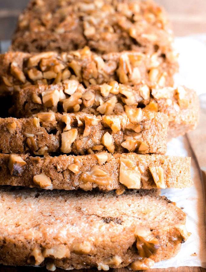 Cinnamon Swirl Almond Bread