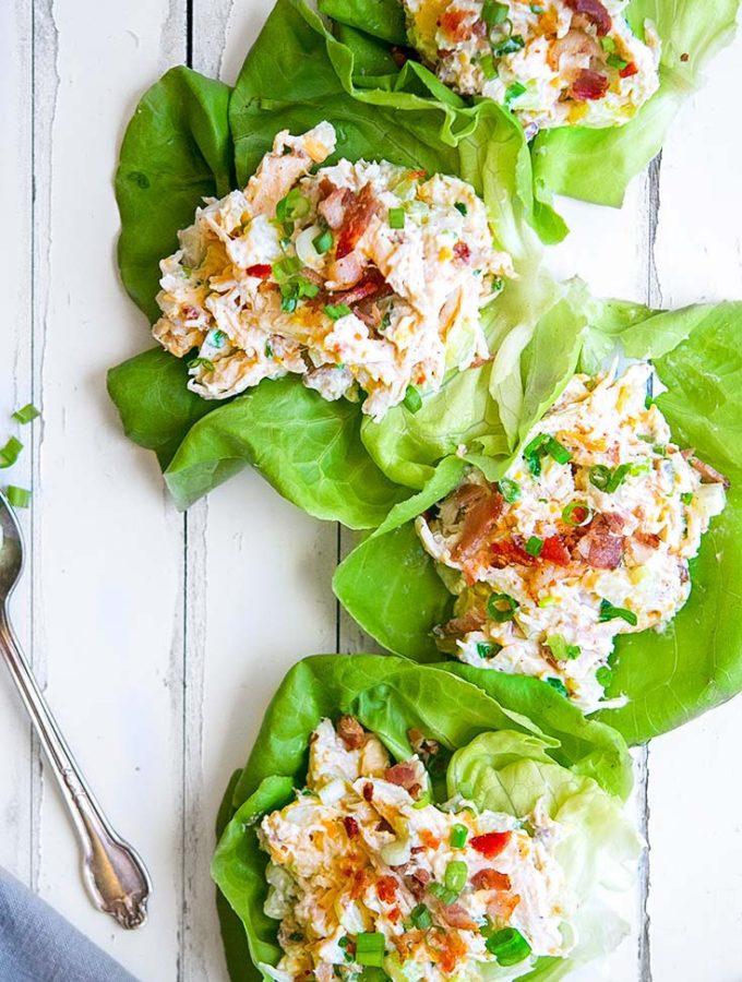 Rotisserie Chicken Salad (Low Carb!!)