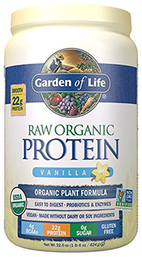 low carb protein powder, garden of life