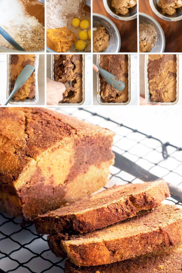 Chocolate swirled, gluten free pumpkin bread with a delicious cream cheese topping, oh my! #lowcarb #keto #glutenfree #grainfree #healthy #recipe #coconutflour #vegan #withcreamcheese #bobsredmill #starbucks #eggs #desserts #breakfast #baking #snacks #oven #cinnamonswirl #greekyogurt #cleaneatingChocolate swirled, gluten free pumpkin bread with a delicious cream cheese topping, oh my! #lowcarb #keto #glutenfree #grainfree #healthy #recipe #coconutflour #vegan #withcreamcheese #bobsredmill #starbucks #eggs #desserts #breakfast #baking #snacks #oven #cinnamonswirl #greekyogurt #cleaneating
