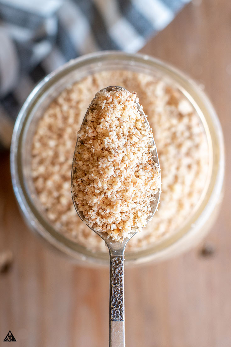 A spoonful of almond meal