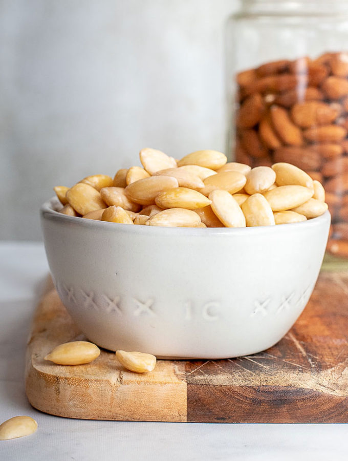How To Blanch Almonds