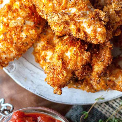 Best Keto Fried Chicken Crispy Crunchy Delicious