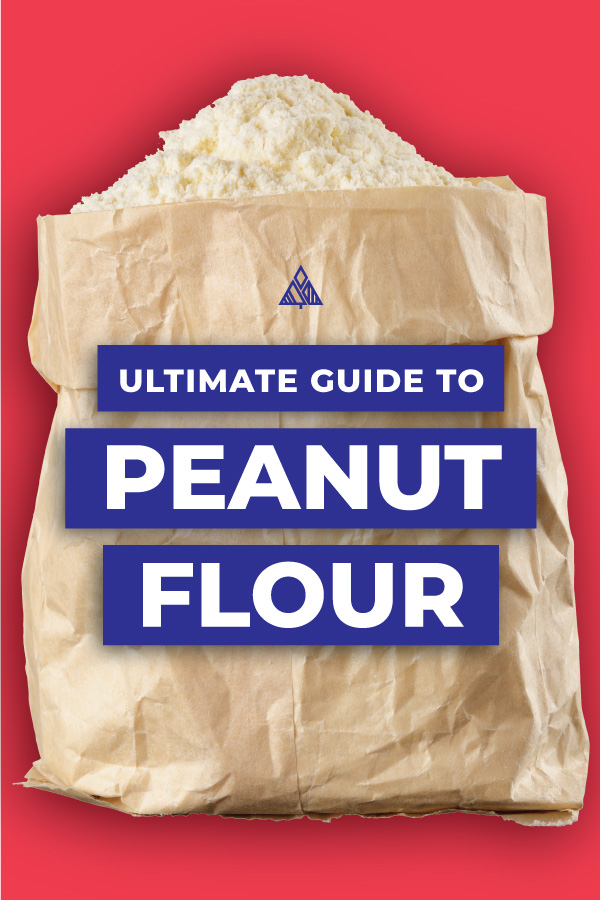 Graphic of peanut flour