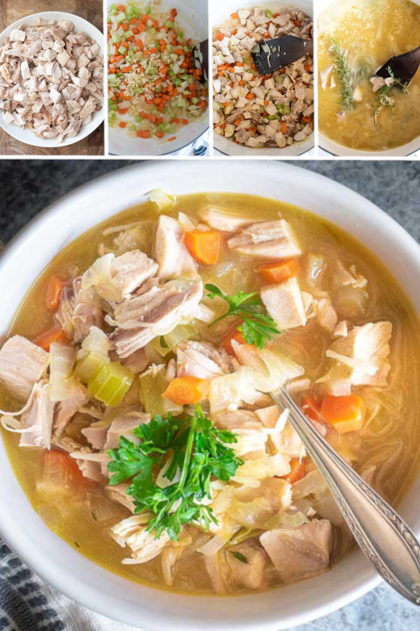 Don't think I'm crazy — but I think soup tastes WAY better without noodles! 🍲 For example, this low carb chicken soup recipe obviously doesn't have any noodles — which means I have more room for my favorite vegetables, chicken and fresh herbs! Flavorful protein packed meal that's low in carbs — what's not to love? Grab this soup recipe in my bio link... #lowcarbchickensoup #ketochickensoup