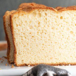 Sliced soul bread