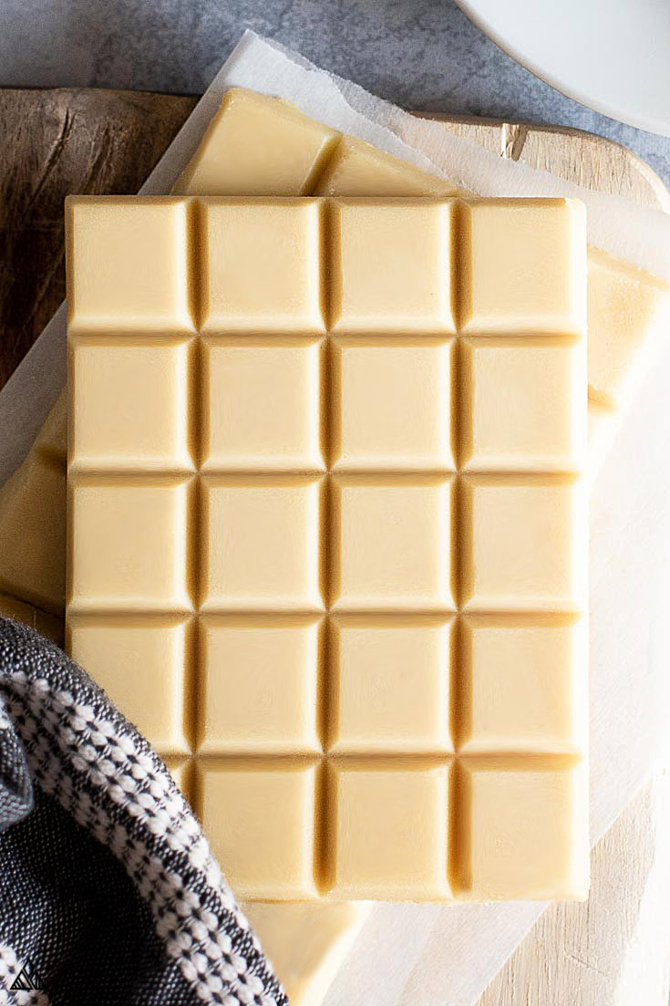 Sugar free white chocolate bars