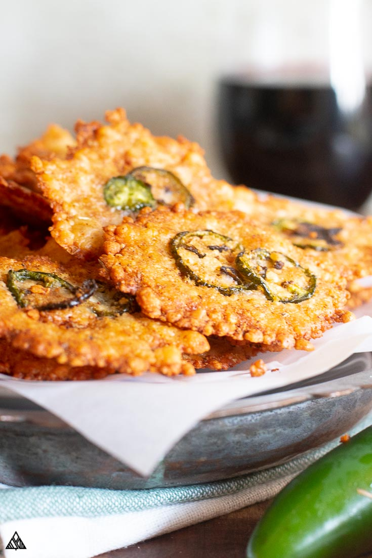 Cheese Crisps Supeeeer Easy Little Pine Low Carb