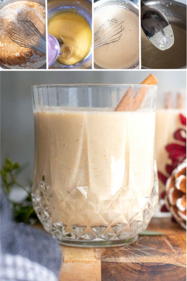 What's your favorite holiday cocktail? ❤️🎄❤️🎄 . If you said eggnog, then you're in luck. Because I just whipped up a delicious recipe for keto eggnog that none of my friends could tell was a low carb recipe! #lowcarbeggnog #ketoeggnog