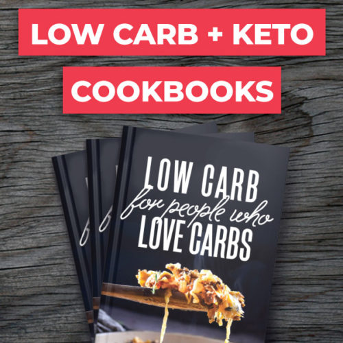 The TOP low carb cookbook options —from easy to unique recipes you've never tried before! #lowcarbcookbook #ketocookbook